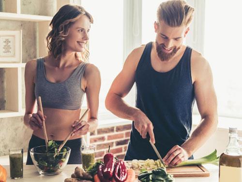 Jak mężczyźni i kobiety podchodzą do diety
