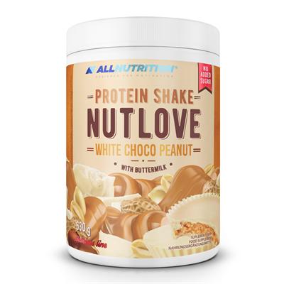 ALLNUTRITION NUTLOVE Protein Shake White Choco Peanut