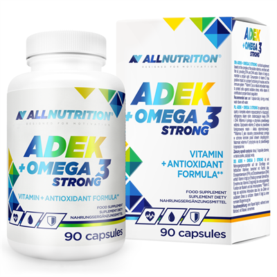 ALLNUTRITION ADEK + Omega 3 Strong