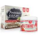 ALLNUTRITION Nutwhey Strawberry 500g + Proteineo Bread 110g GRATIS ()