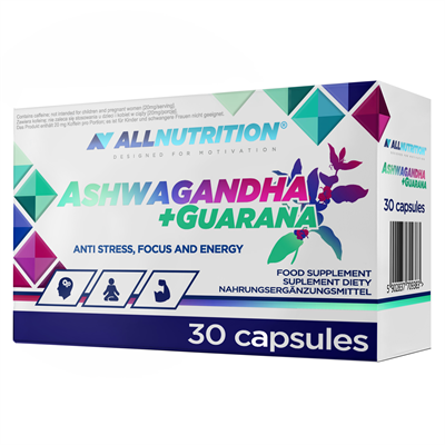 ALLNUTRITION Ashwagandha + Guarana