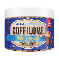 COFFILOVE Ziarna Kawy W Białej Czekoladzie Z Cynamonem