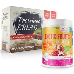 Exotic Fruits In Jelly 1000g + Proteino Bread 110g GRATIS