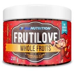 FRUTILOVE WHOLE FRUITS - TRUSKAWKI W CIEMNEJ CZEKOLADZIE Z KAKAO