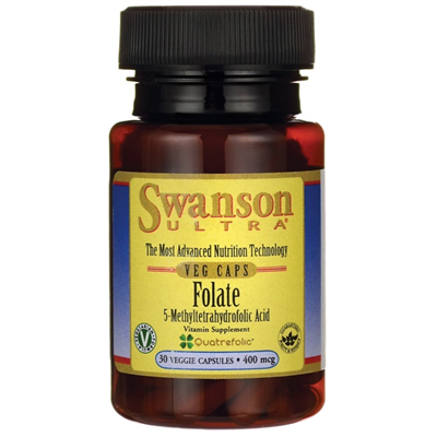 Swanson Folate (5-Methyltetrahydrofolic Acid)
