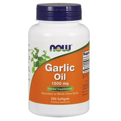 Garlic Oil - 250softgels(1500mg)