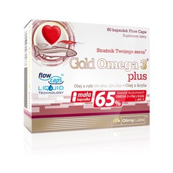 Gold Omega 3 plus - 60kap