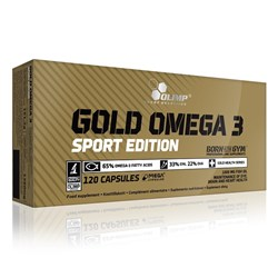 Gold Omega 3 sport edition - 120caps