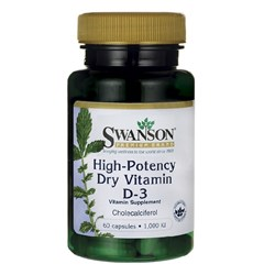 High-Potency Dry Vitamin D-3