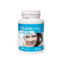 Kolagen Medica Forte 200 mg LICAPS® Kapsułki z Roztworem