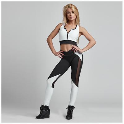 Gym Provocateur LEGGINSY SEXY BLACK&WHITE