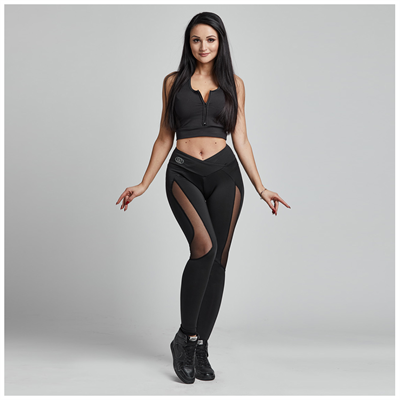 Gym Provocateur LEGGINSY SEXY BLACK