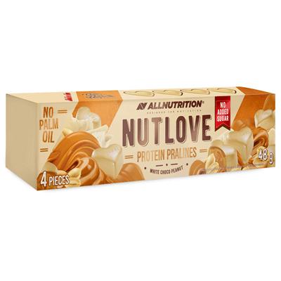 ALLNUTRITION NUTLOVE Protein Pralines White Choco Peanut