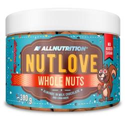 NUTLOVE WHOLENUTS - Migdały W Mlecznej Czekoladzie Z Cynamonem