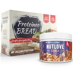 Nutlove Crunch 500g + Proteineo Bread 110g GRATIS