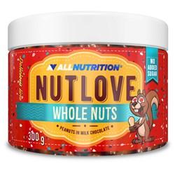 Nutlove Wholenuts - Arachidy W Mlecznej Czekoladzie 300g