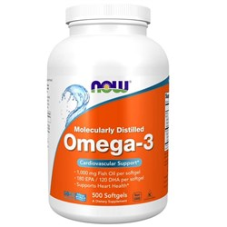 Omega-3 - 500 softgels