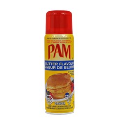 PAM cooking spray Butter Flavour - 141g