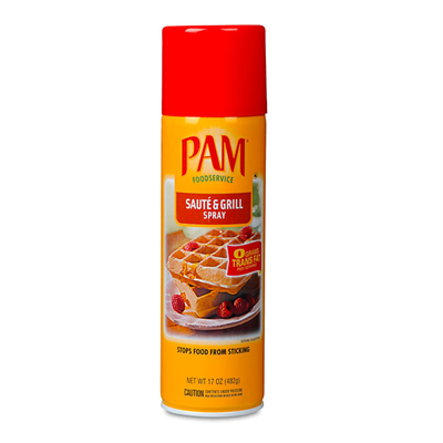 PAM Conagra Foods PAM cooking spray Grill