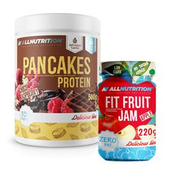 Pancakes Protein + Fit Fruit Jam - 500g+220g