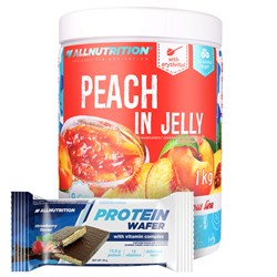 Peach in Jelly + Protein Wafer - 1000g+35g