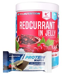 Redcurrant in Jelly + Protein Wafer - 1000g+35g