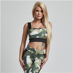 TOP BRAVE MILITARY GREEN - 1szt