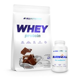 Whey Protein + Burn4ALL - 908g+100caps