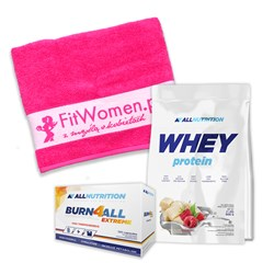 Whey Protein + Burn4all Extreme + Ręcznik