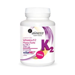 Witamina K2 200 µg Mono FORTE MK-7 z Natto